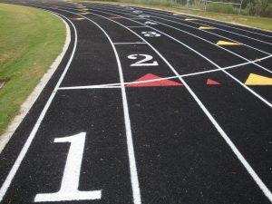 Jogging track,Acrylic flooring